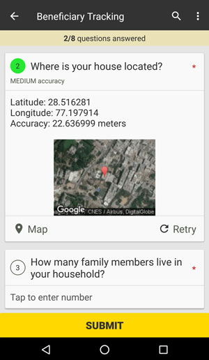 Collect Location Data on Mobile