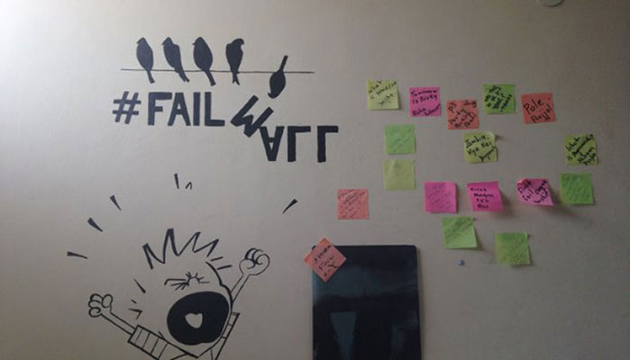 Our fail wall